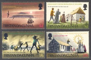 Tristan da Cunha MH 128-31 Culture-Religion