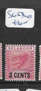 MALAYA SELANGOR     (PP2305B)   TIGER  3C  SURCHARGE SG 53   MOG