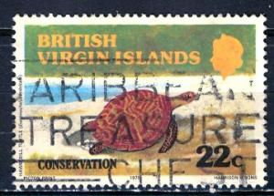 British Virgin Islands; 1979: Sc. # 348: O/Used CTO Single Stamp