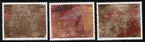 100 MNH COMPLETE SETS OF ALGERIA PETROGLYPHS - SCOTT #835-837 - $635.00 VALUE!