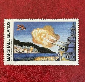 1994 Marshall Islands Stamp SC#592 29c WWII US Liberates Guam, MNH*