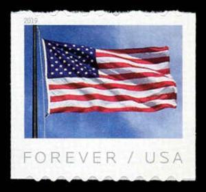 USA 5342 Mint (NH) US Flag (APU) Coil Stamp
