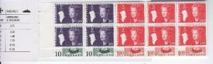 GREENLAND 1977-89 Booklet 91a 130a cmplt mnh fvf scv $80.00 less 50%=$40.00