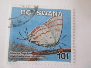 Botswana #843 used  2019 SCV = $0.30