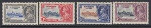 St. Kitts-Nevis, Scott 72-75 (SG 61-64), MHR