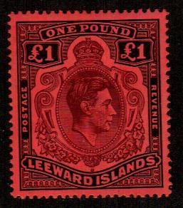 Leeward Islands #115a  Mint  Scott $225