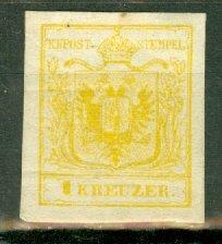 B: Austria 1 mint CV $1650