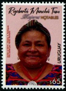 HERRICKSTAMP NEW ISSUES URUGUAY Rigoberta M Tum