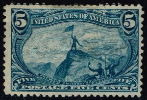 US #288 Fremont on the Rocky Mts.; Unused NG (1Stars)