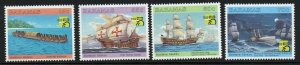 BAHAMAS SG1168/71 1999 AUSTRALIA 99 WORLD STAMP EXHIBITION MNH