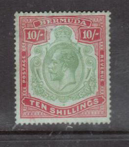 Bermuda #53 Very Fine Mint Original Gum Hinged