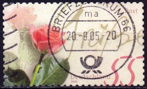 Germany. 2003. 2321. Roses. USED.