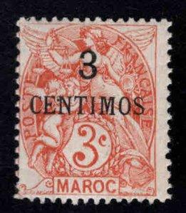 French Morocco Scott 13 MH* stamp