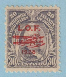 UNITED STATES - PHILIPPINES C27 AIRMAIL  MINT NEVER HINGED OG ** VERY FINE!