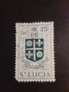 *St. Lucia #166                    Used