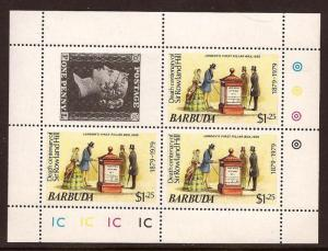 Barbuda  #  383  Mint  N H