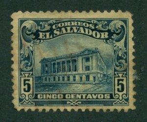 El Salvador 1916 #433 U SCV (2020) = $0.25