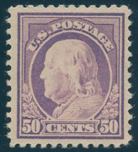 Scott #517 Mint, VF, Hinge Remnant