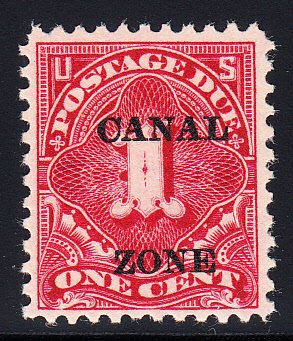 US Canal Zone #J12 VF NH Scarce stamp!