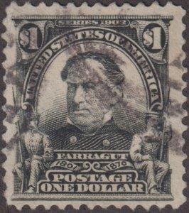 US Stamp #311 Used 31113307