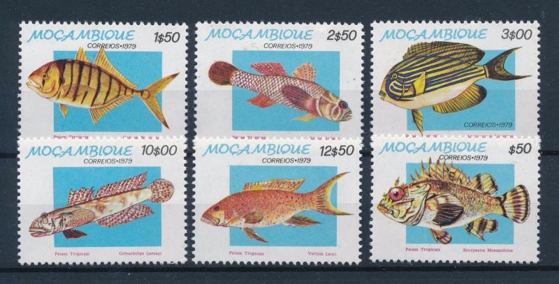 [60109] Mozambique 1979 Marine life Fish MLH