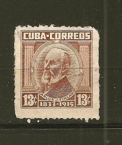 Cuba Type A184 Reissue 1962 Carlos Finlay Used