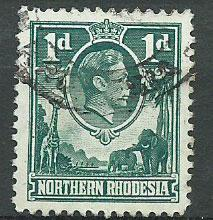 Northern Rhodesia  SG 28 Used