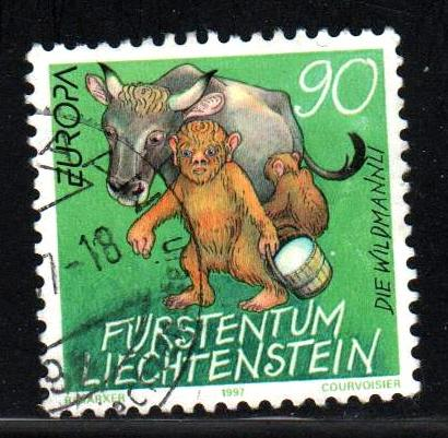 Liechtenstein # 1097 ~ Used, HMR ~ cv 1.25