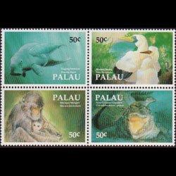 PALAU 1993 - Scott# 313 Fauna Set of 4 NH