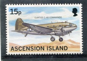 Ascension Island AIRCRAFT THE CURTISS 1 value Perforated Mint (NH)