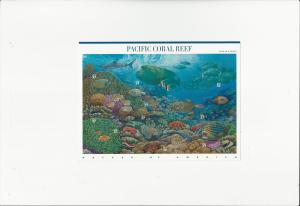 Pacific Coral Reef Scott #3831