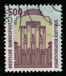 Deutsche, 500 Pf, 1993, The State Theatre Cottbus, MC #1679 (T-6225)
