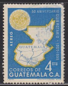 Guatemala C207 Rotary International 1956