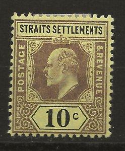 Straits Settlements 98 SG 115 MH VF 1902 SCV $29.00 (jr)