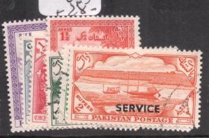 Pakistan SG O45-51 VFU (10dlo)