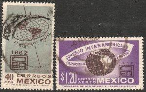 MEXICO 926, C263, Interamer. Economic & Soc Council USED. F-VF. (1078)