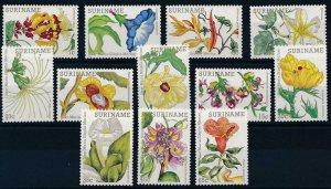 [SU321] Suriname Surinam 1983 Flowers MNH