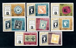 [93945] Ajman 1965 125 Years Postage Stamps on Stamps  MNH