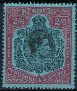 Bermuda #124a*  (S.G. Cat. #117)  CV $26.00