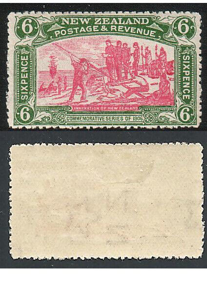 NEW ZEALAND 1906 Christchurch Exhibition 6d fine mint ACS cat NZ$500.......14464