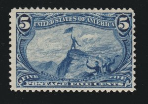 US 288 5c Trans-Mississippi Mint F-VF OG NH SCV $300