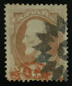 MOMEN: US STAMPS #159 NYFM USED LOT #72592*
