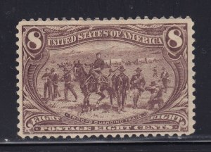 289 VF OG mint previously hinged with nice color cv $ 150 ! see pic !
