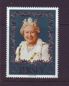 Jersey Sc 1215 2006  80th Birthday QE II stamp mint NH