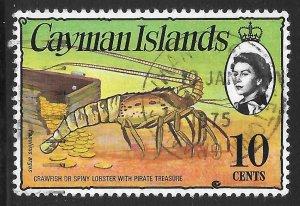 [7065] Cayman Islands # 338 Used