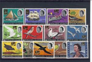 Pitcairn Islands, 72-84, Various Designs Singles, **MNH**