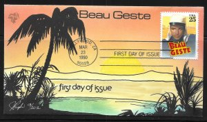 USA 2447 Classic Films Beau Geste Pugh First Day Cover FDC (z1)