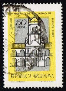Argentina #1164 Architecture; Used (0.25)