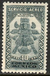 MEXICO C137, 40c 1934 Definitive. Birdman. MINT, NH. F-VF.