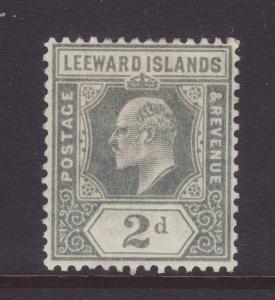 1911 Leeward Islands 2d Mounted Mint SG39